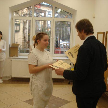 Předání diplomu