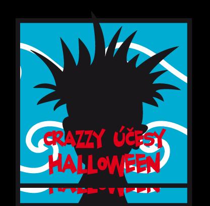 Distanční výuka kadeřníků na téma Halloween